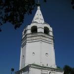 Шатровая колокольня собора