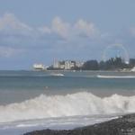 Вид на Лазаревку с пляжа Волконки